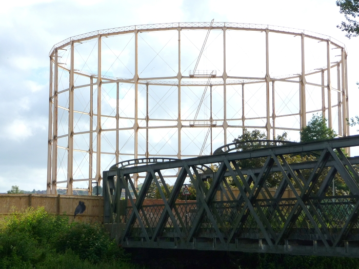 Bath gasholder