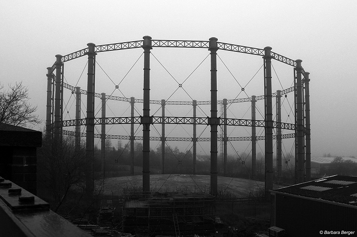 West Bromwich Swan Village gasholder